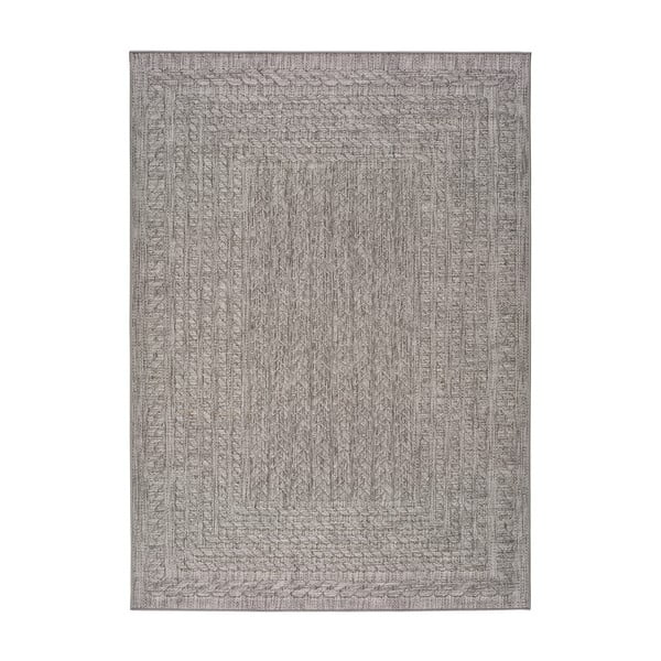 Sivý vonkajší koberec Universal Jaipur Berro, 160 x 230 cm