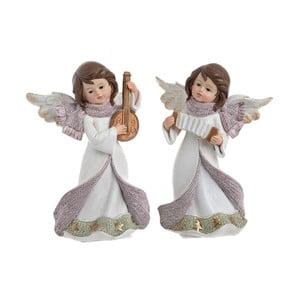 Sada 2 dekorativních andělíčků InArt Angel, výška16cm