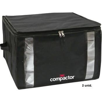 Cutie de depozitare cu vid pentru haine Compactor Black, 125 l imagine