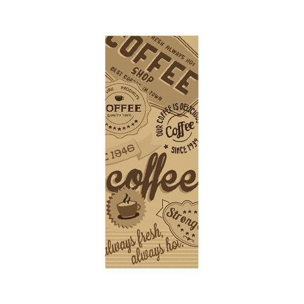 Koberec Kávové opojení 80x200 cm, béžový