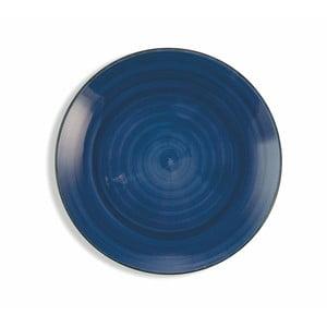 Sada 6 tmavě modrých talířů Villa d´Este Baita, ø 19 cm