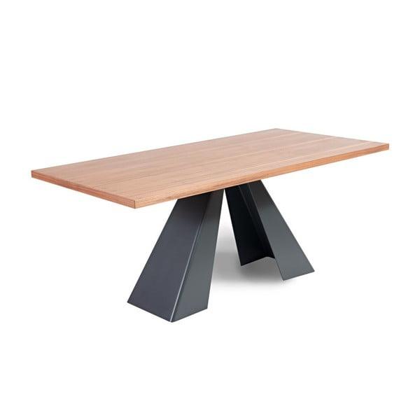 Jídelní stůl s deskou z dubového dřeva Charlie Pommier Visionnaire, 240x110cm