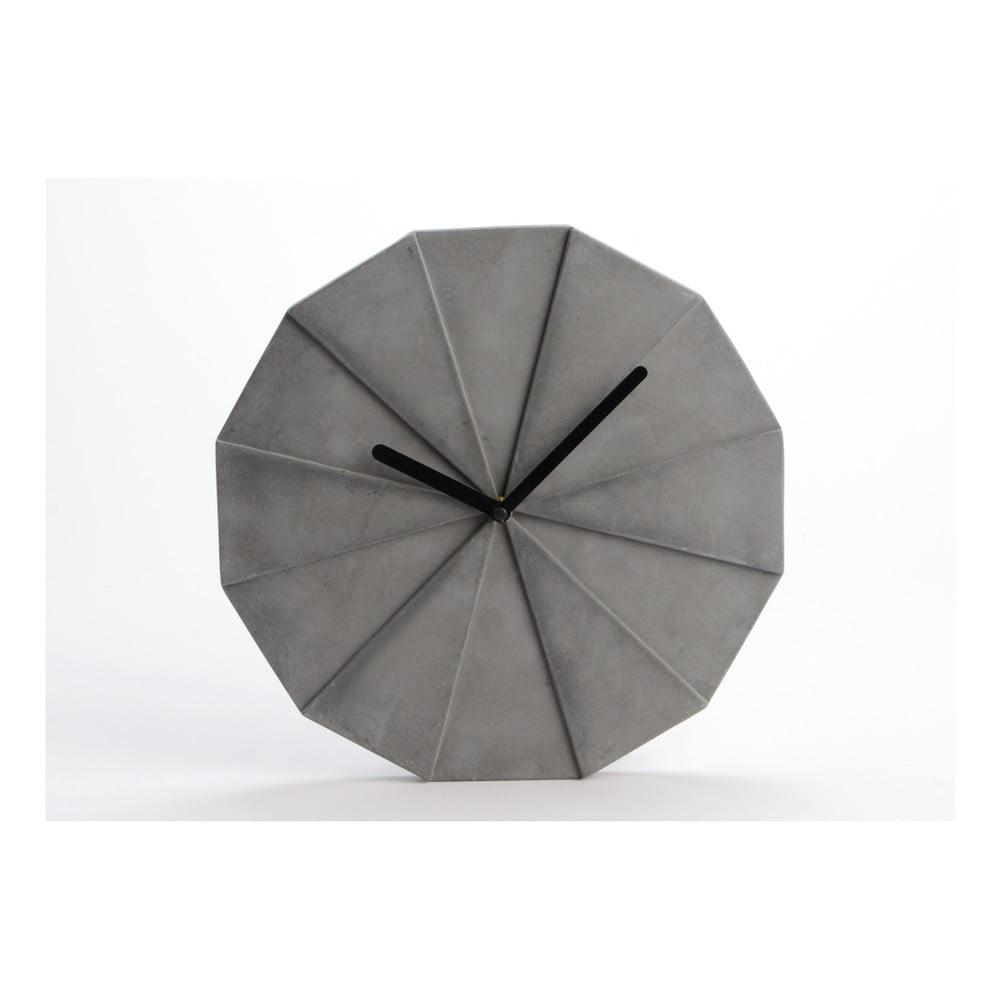 Betonové hodiny Amadeus Graphic, Ø28cm