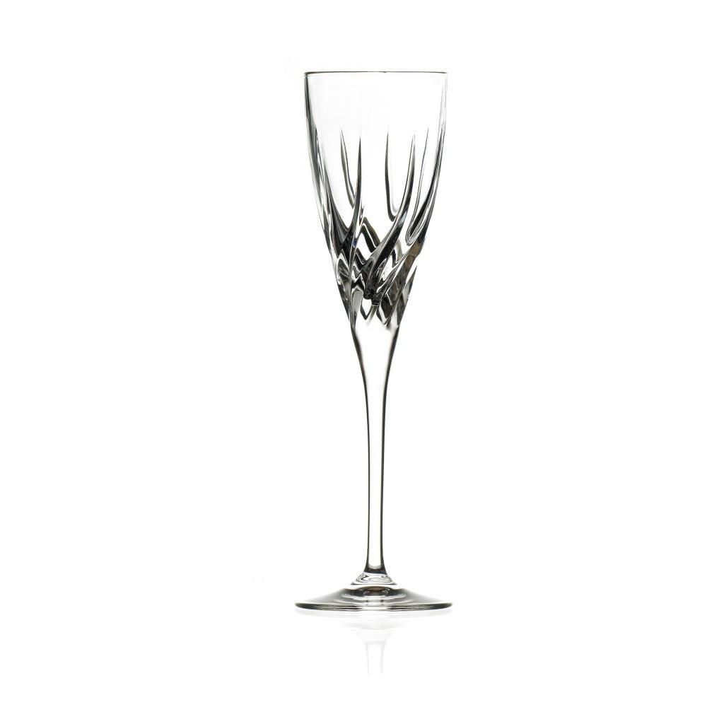 Sada 6 sklenic na sekt RCR Cristalleria Italiana Enrico