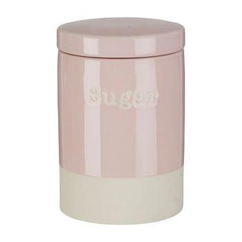 Recipient din ceramică pentru zahăr Premier Housewares, 616 ml, roz imagine