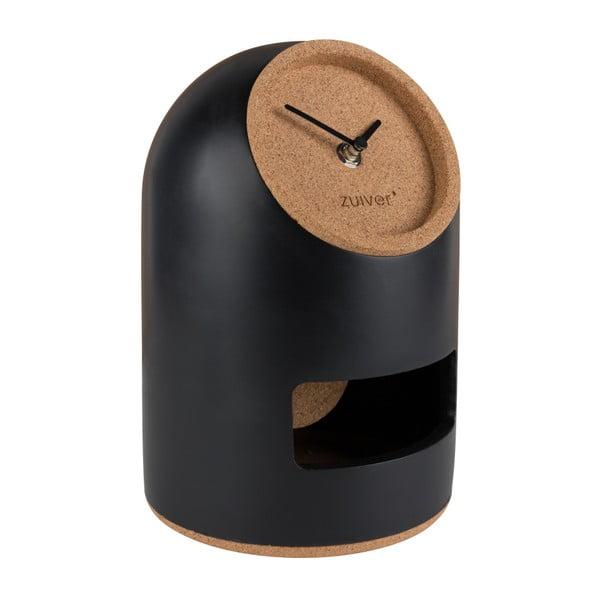 Černé stolní hodiny Zuiver Uno