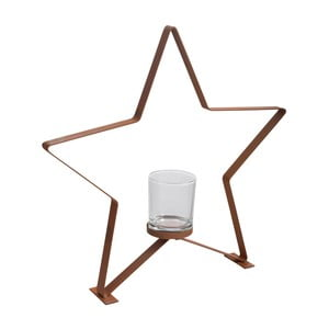 Svícen J-Line Star Metal L