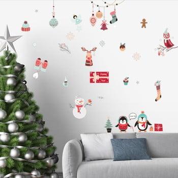 Set autocolante Crăciun Ambiance Winter Party