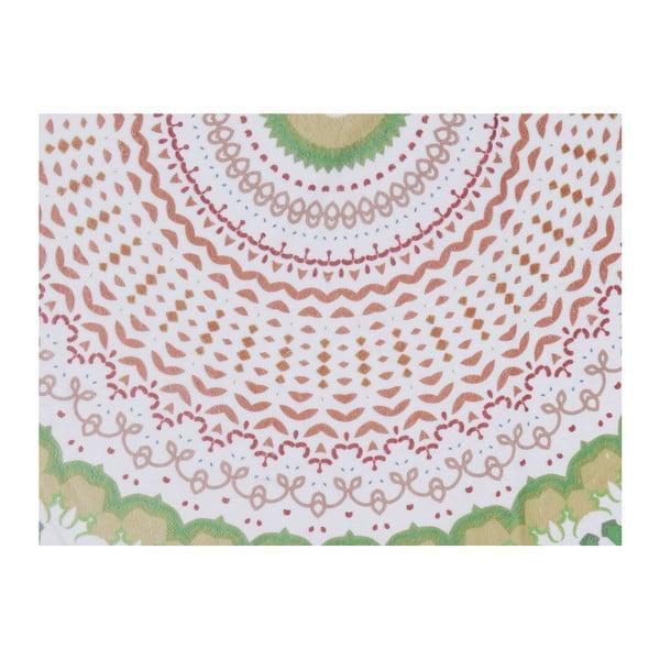 Barevná plážová osuška ze 100% bavlny Baloon, ⌀ 150 cm