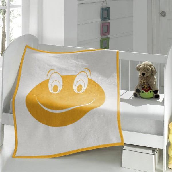 Dětská deka Baby Frog, 90x120 cm