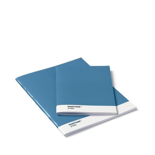 Set 2 caiete Pantone, albastru