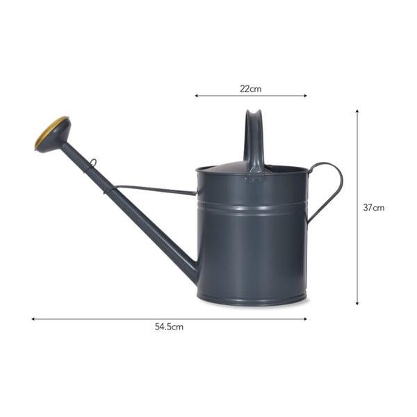 Tmavě šedá zahradní konev Garden Trading Watering in Chalk, 10l