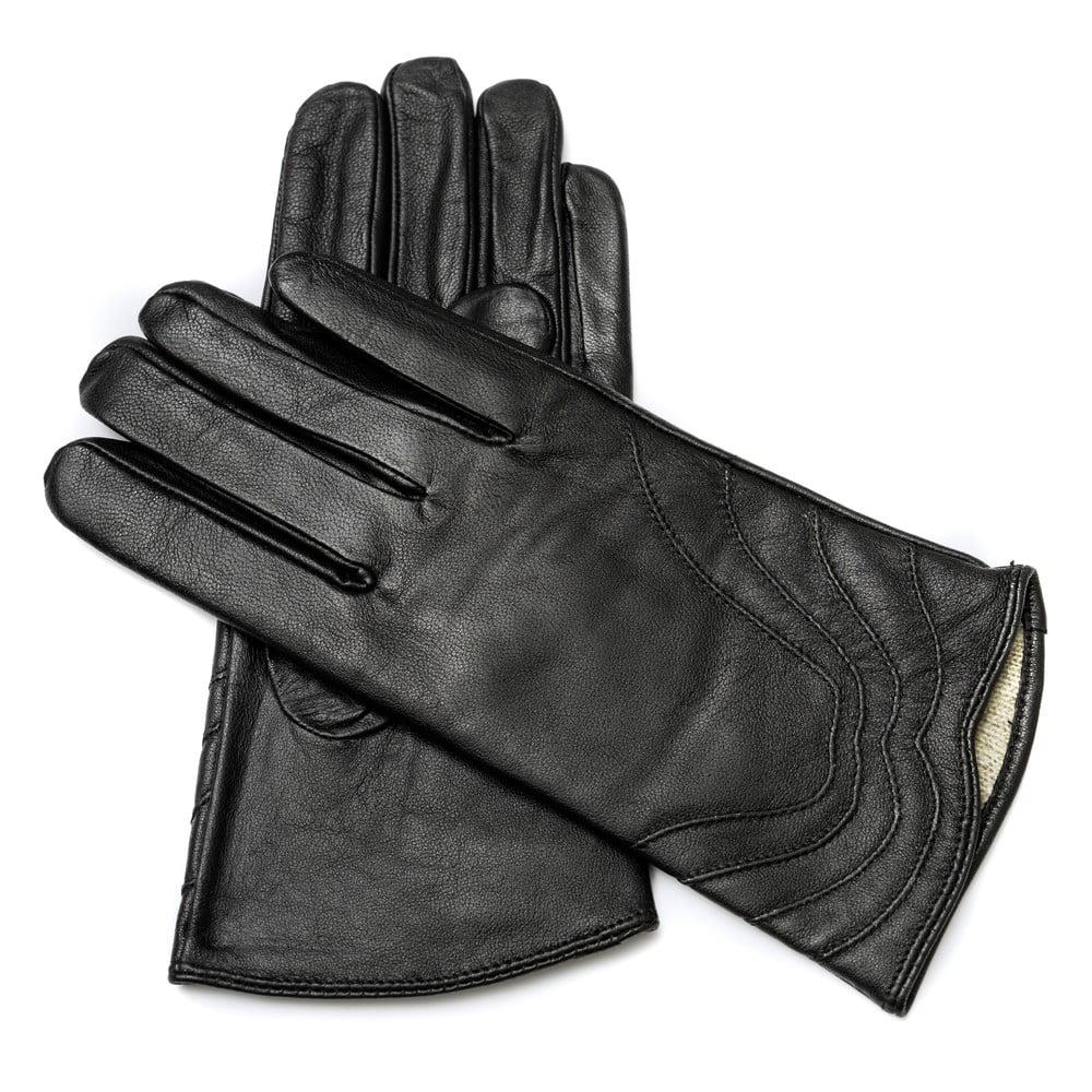 d0cec23f42c Dámské černé kožené rukavice  br Pride   Dignity ...