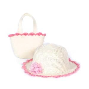 Set plážového klobouku a tašky Art of Polo Rosa