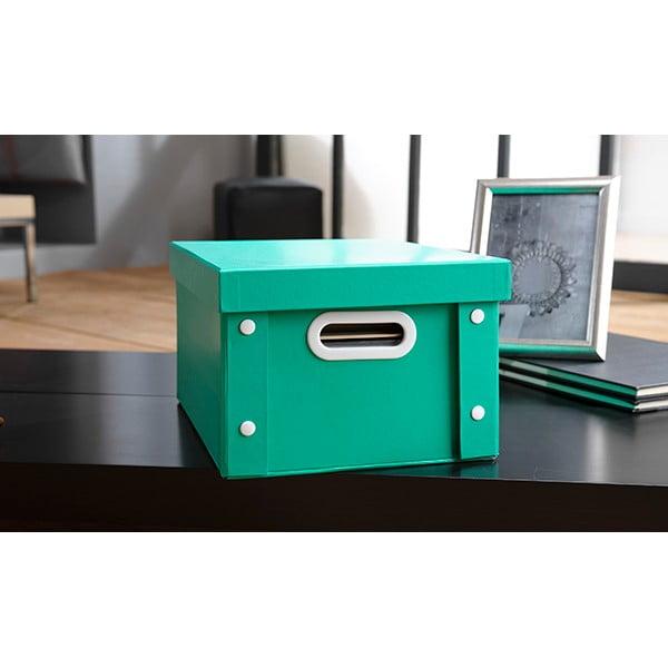 Barevný úložný box Emerald
