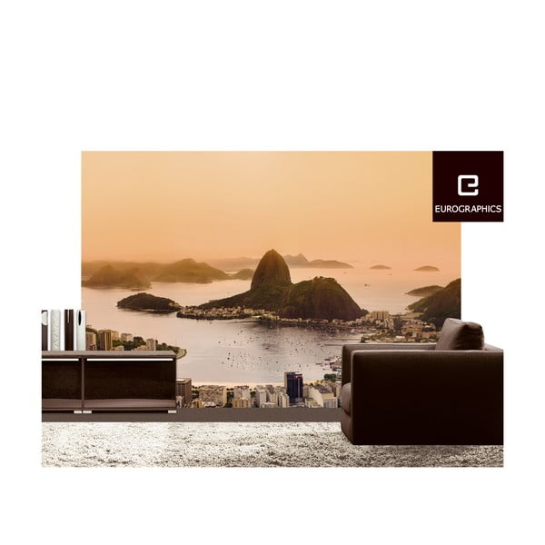 Velkoformátová tapeta Rio de Janeiro, 254x366 cm