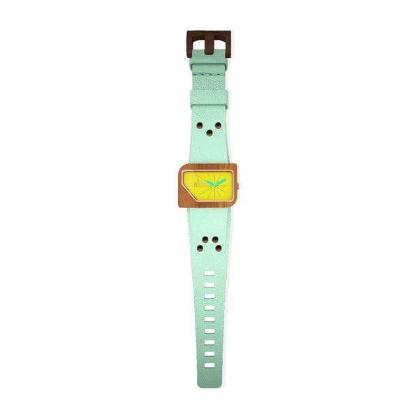 Hodinky Pellicano Mint/Yellow Neon
