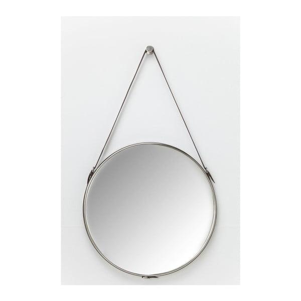 Hacienda ezüstszínű fali tükör, Ø 61 cm - Kare Design
