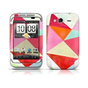 Samolepka na HTC WildFire, Pink Triangle