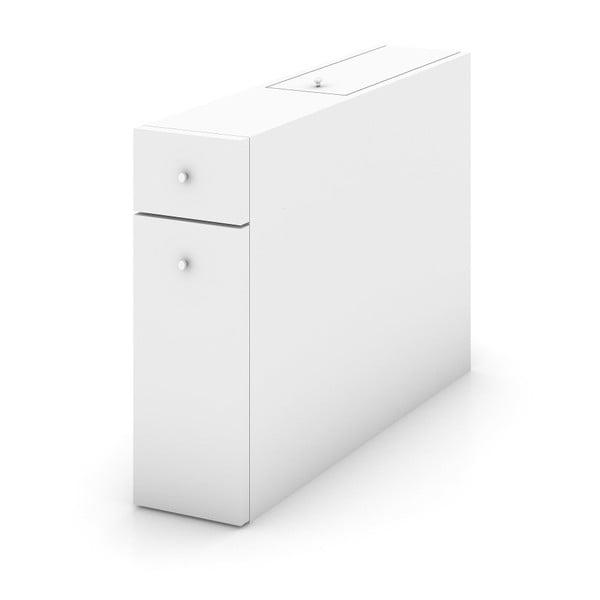 Biela kúpeľňová skrinka, 55 x 60 cm