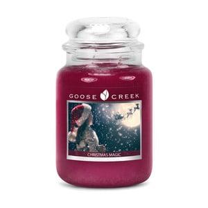 Lumânare parfumată în recipient de sticlă Goose Creek Christmas Magic, 150 ore de ardere
