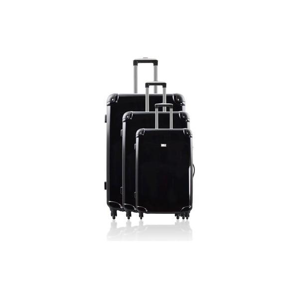 Sada 3 cestovních zavazadel Cadenas Black