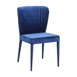 Modrá židle Kare Design Cosmos