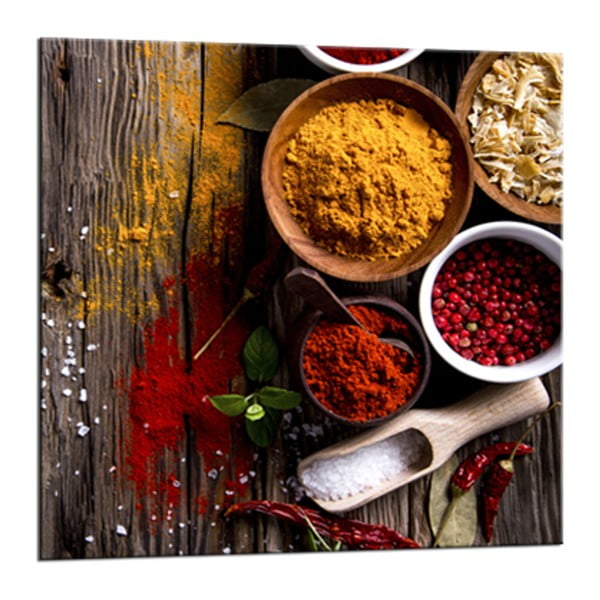 Glasspik Spice 3 A fali kép, 20 x 20 cm - Styler