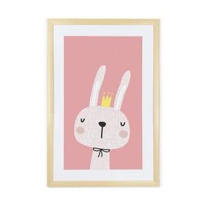 Obraz Tanuki King Rabbit, 60 x 40 cm