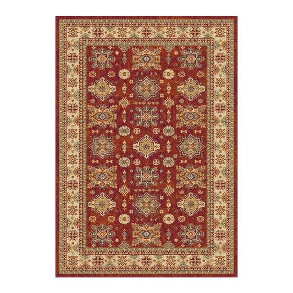 Covor Universal Terra Ornaments, 115 x 160 cm, maro-roșu