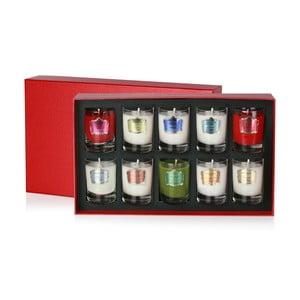 Dárková sada 10 svíček Bahoma