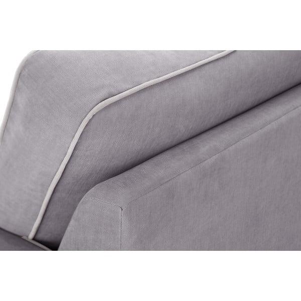 Trojdílná sedací souprava Jalouse Maison Serena, šedivá