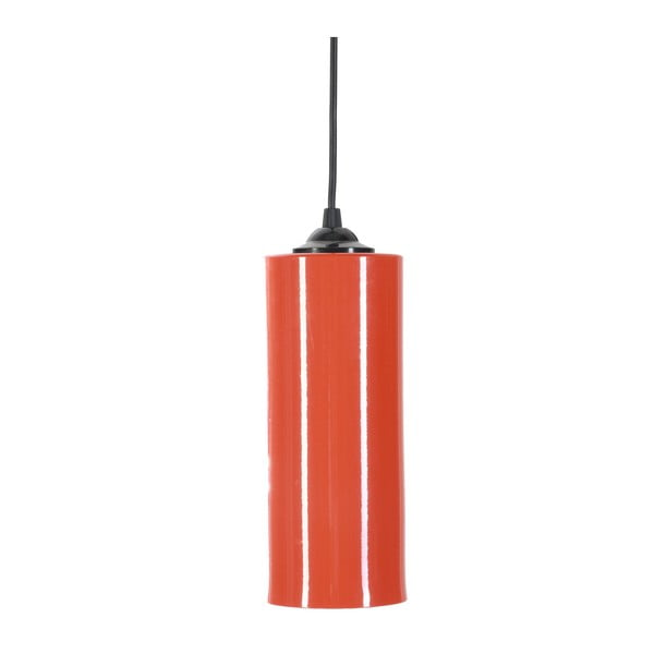 Červené závěsné svítidlo Masivworks Basical