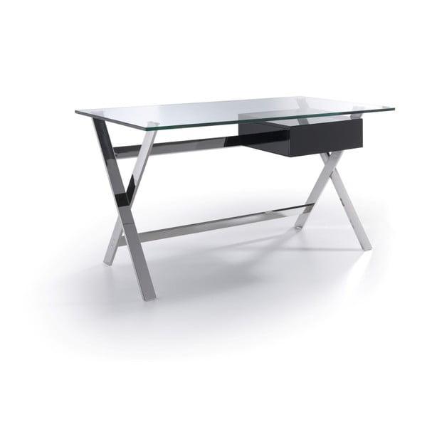 Concha íróasztal, fekete fiókkal - Ángel Cerdá