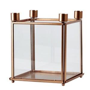 Svícen na 4 svíčky Copper