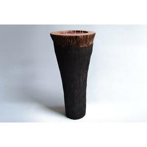 Palmová svíčka Legno Long s vůní exotického ovoce, 160 hodin hoření