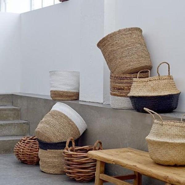 Úložný košík z mořské trávy Bloomingville Basket