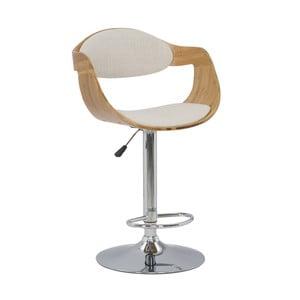 Barová židle z bambusu Mauro Ferretti Bamboo Osaka Lino