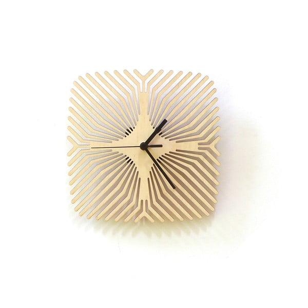 Dřevěné hodiny Spider, 24 cm