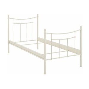 Bílá jednolůžková postel Støraa Victor, 90x200cm