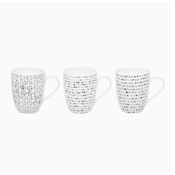 Sada 3 porcelánových hrnků Sola Lunasol, 320ml
