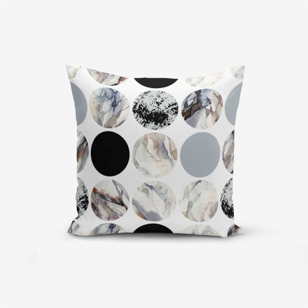 Față de pernă Minimalist Cushion Covers Ring Modern, 45 x 45 cm
