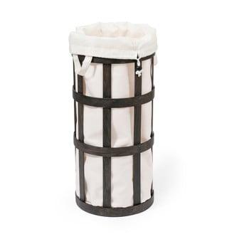 Coș de rufe Wireworks Cage, negru cu sac alb imagine