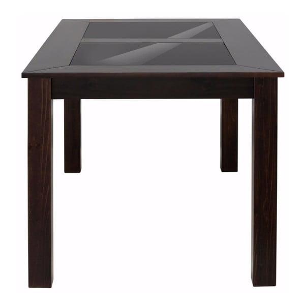 Tmavý jídelní stůl Støraa Zamora, 180 x 90 cm