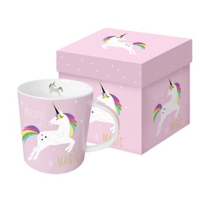 Porcelánový hrnek PPD Pink Unicorn, 350 ml