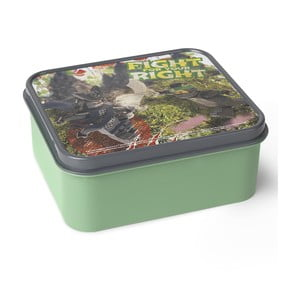 Zelený box na svačinu LEGO® Ninjago Movie