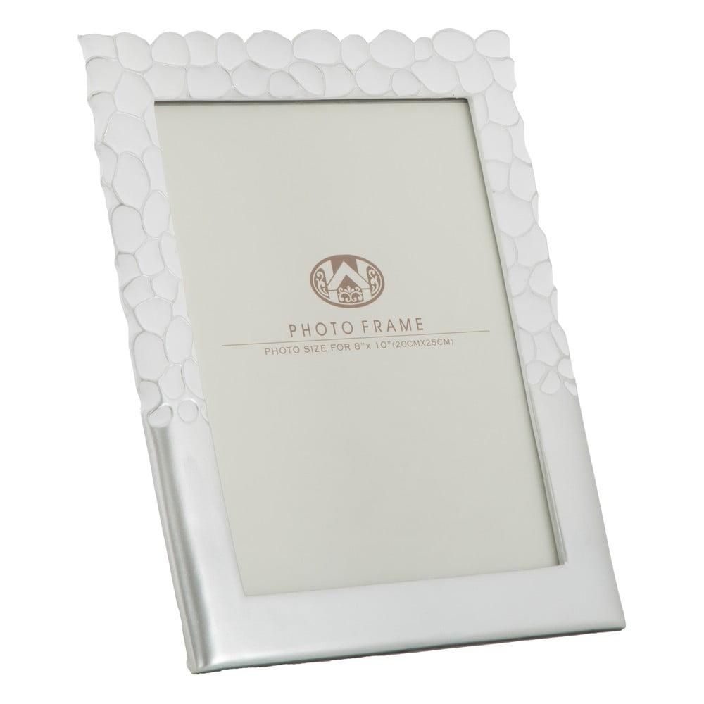 Fotorámeček ve stříbrné barvě MauroFerretti, 26,5x31,5cm