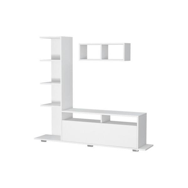 Bílý TV stolek Argo