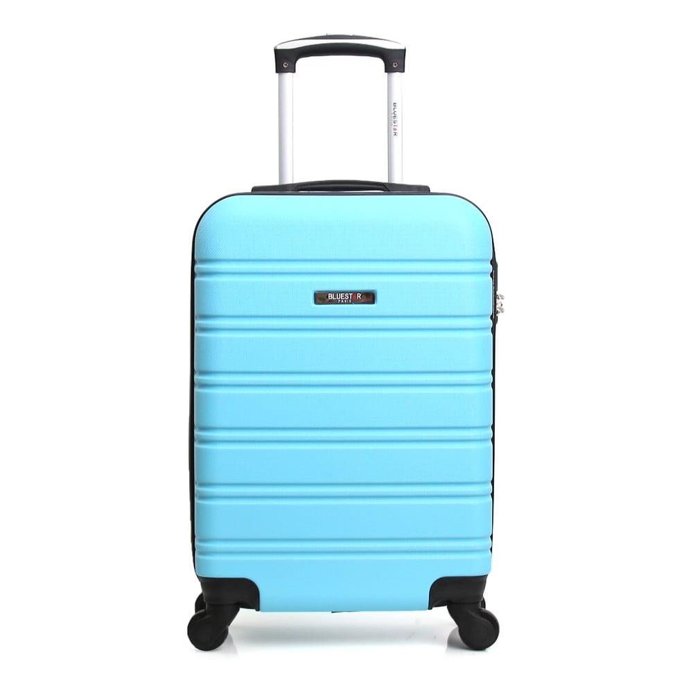 Modrý cestovní kufr na kolečkách Blue Star Bilbao, 35 l