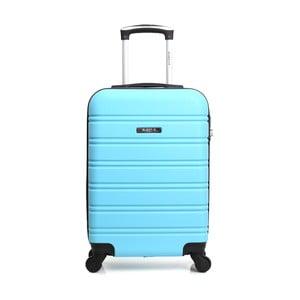 Modrý cestovní kufr na kolečkách BlueStar Bilbao, 35l